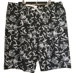 Island Haze | Unique butterfly motif swim shorts